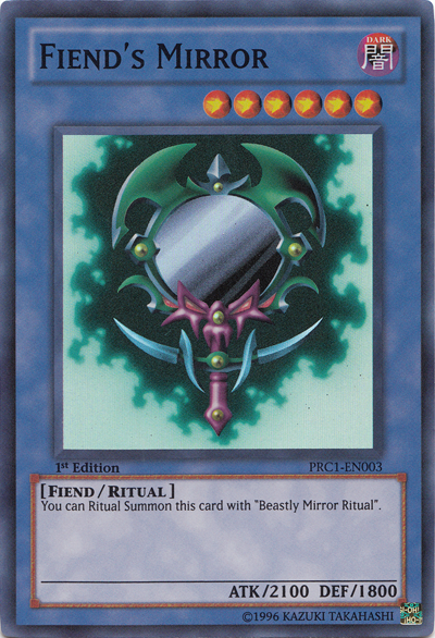 Fiend S Mirror Yu Gi Oh It S Time To Duel