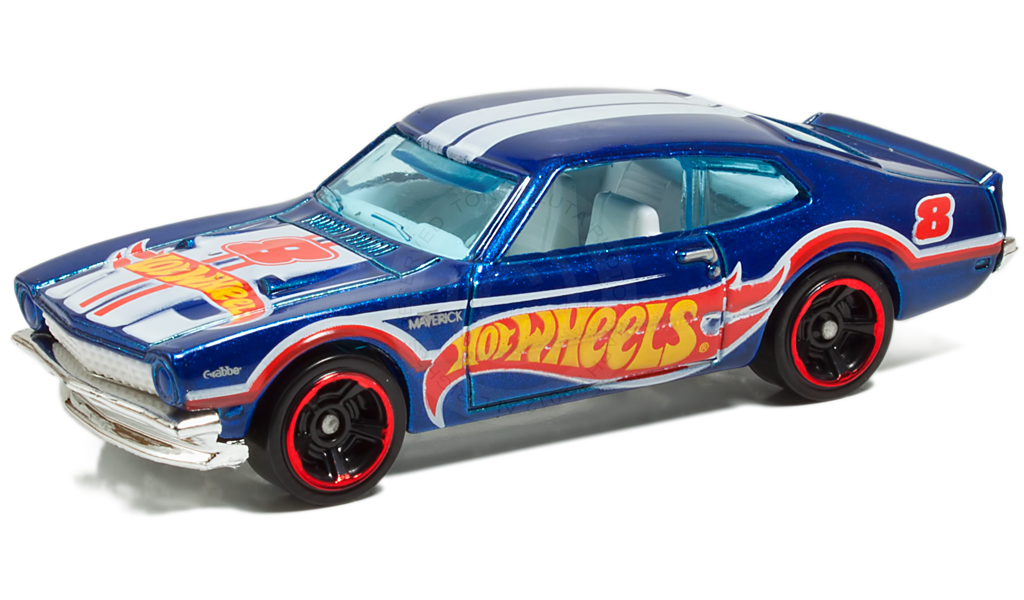 Hotwheels Cars Cliparts: '71 Maverick Grabber