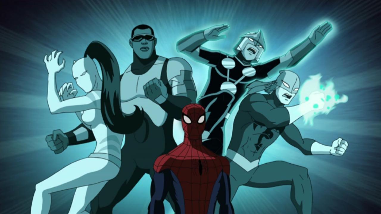 Ultimate spider man animated series season 1 2 marvel - Nova ultimate spider man ...