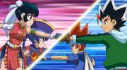 Gingka Hagane e Masamune Kadoya vs
