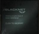 Aplicación de Facebook de Blacknet