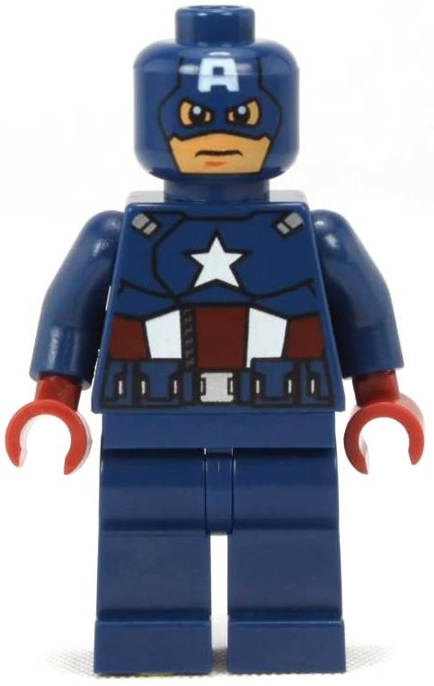 Captain America Lego Coloring Pages To Print