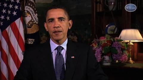 President Obama Gives Ramadan Message