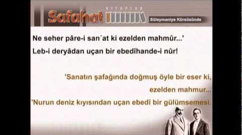 Süleymaniye Kürsüsünde - Mehmet Akif Ersoy - Safahat