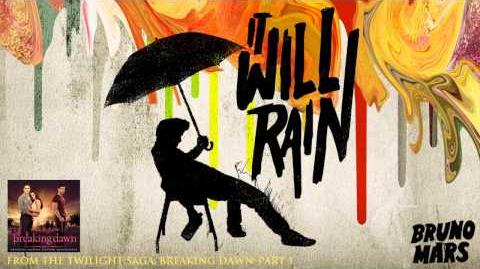 Bruno Mars - It Will Rain New Music