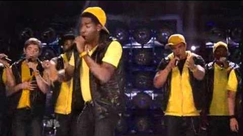 "5th Performance - The YellowJackets - ""The Show Goes On"" By Lupe Fiasco - Sing Off - Series 3"