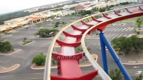Superman Krypton Coaster