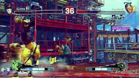 Deejay 2nd Ultra Climax Beat - Super Street Fighter IV