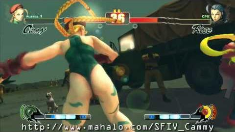 Street Fighter IV - Cammy's Ultra Combo HD