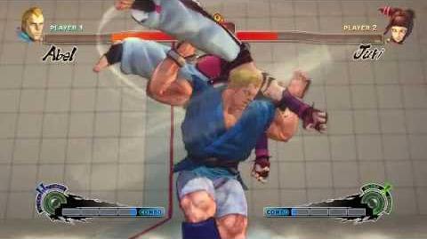 Super Street Fighter 4 - Abel Ultra 2 Breathless
