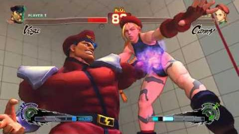 Super Street Fighter 4 - M.Bison Ultra 2 Psycho Punisher