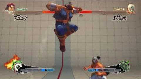 Super Street Fighter 4 - T. Hawk Ultra 1 Raging Typhoon