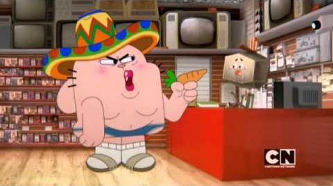 ¿Qué haría papá por una salchicha? (Parte 1) - Elmore Stream El Asombroso Mundo de Gumball