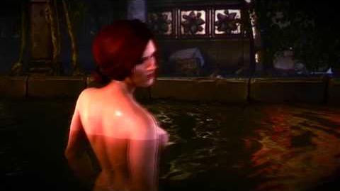 The Witcher 2 Triss Merigold Sex Scene HD