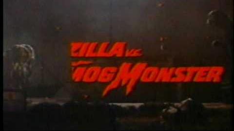 Godzilla vs. The Smog Monster