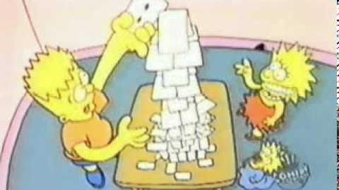 Simpsons Shorts House of Cards