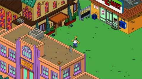 Novo comercial do game The Simpsons: Tapped Out