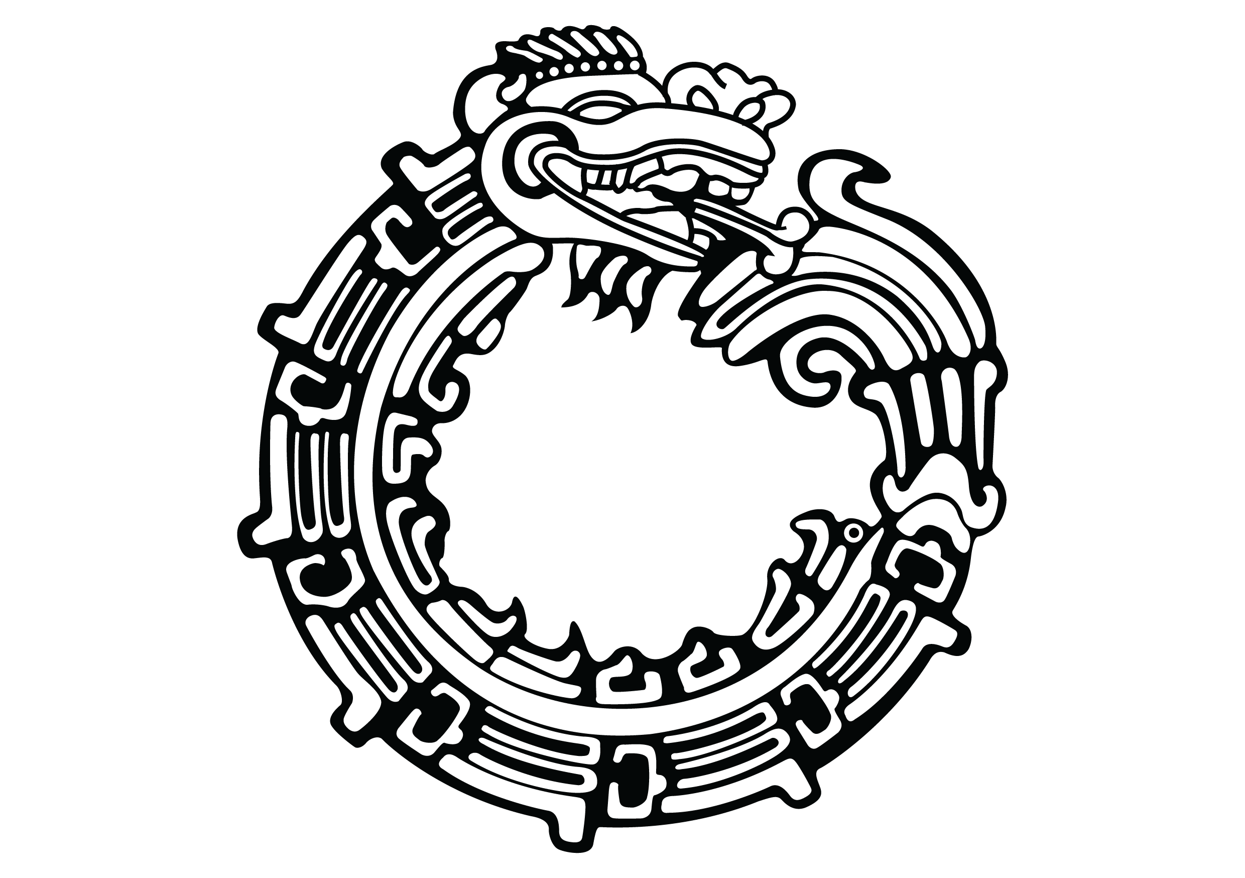 Image  Aztec Serpent Tattoo By Cuba12png Tattoos Wiki