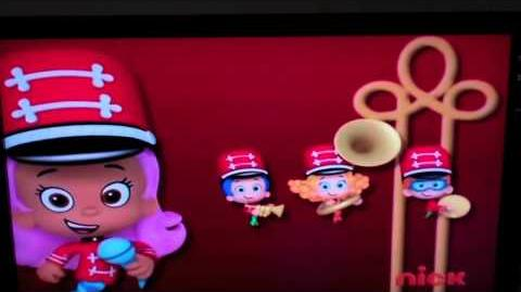 Bubble Guppies March In Line