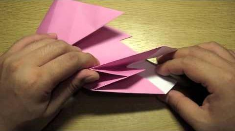 Make an Origami Rabbit Lantern for Easter