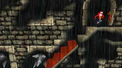 Crash Bandicoot - Unused Removed Level Stormy Ascent (Gem Run)