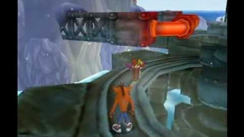 Crash Twinsanity 100% Run - Ice Climb
