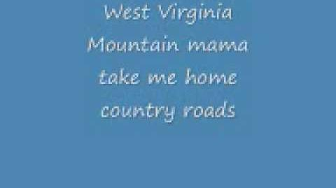Take me home country roads and lyrics