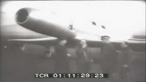 Italian 1940 Caproni Campini N.1 jet plane