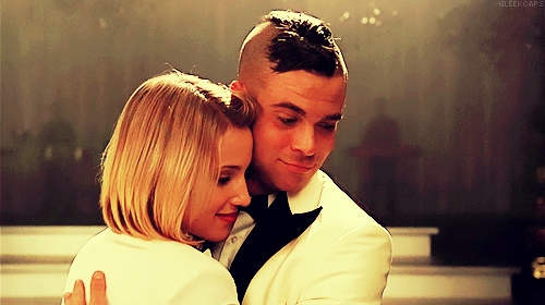 quinn and santana relationship glee wiki puck