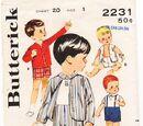 Butterick 2231 A