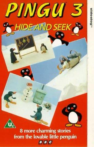 1507332 pingu 3 hide and seek vhs 1991