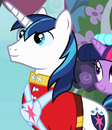 Shining Armor waits for the bride ID S2E26