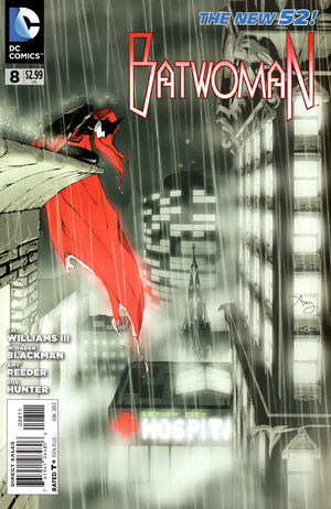 Cover for Batwoman #8 (2012)