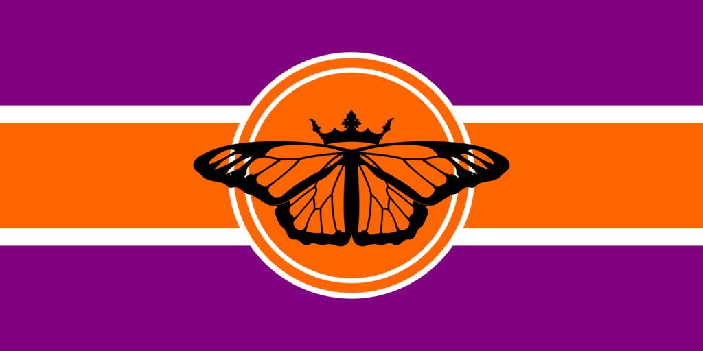 Indian Flag Butterflies: Butterfly Flag