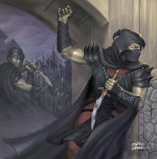 Assassin character class dungeons and dragons wiki wikia
