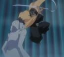 Rukia Kuchiki vs. Aaroniero Arruruerie
