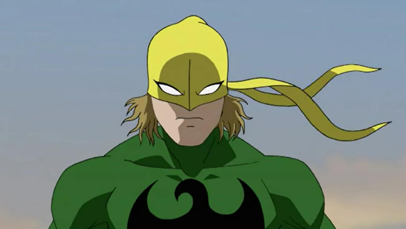 Iron fist spiderman