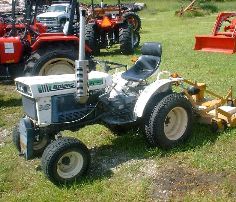 Mitsubishi Tractor Mower Deck : Bolens hydro