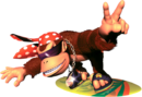 Funky Kong Artwork - Donkey Kong Country 2.png