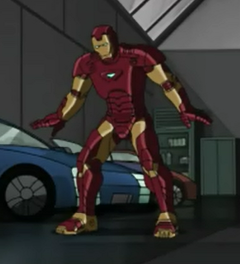 Iron Man Armor MK II - Ultimate Spider-Man Animated Series Wiki