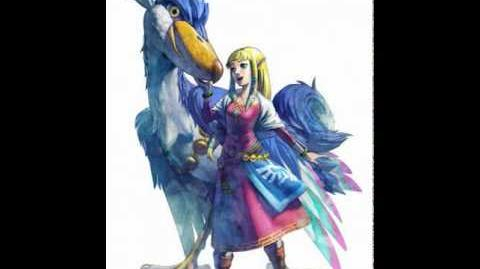 Skyward Sword - Zelda's Lullaby (Main Theme Backwards)