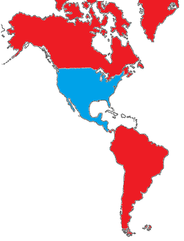 North American Union Map