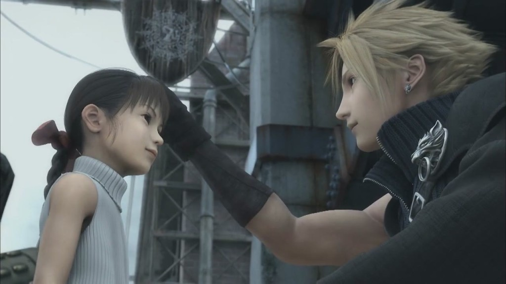will cloud strife actually smile dissidia final fantasy message