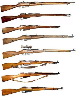 Mosin Nagant series of rifles