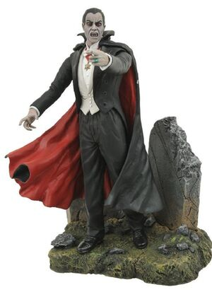 Monster history - Dracula figure stockphoto