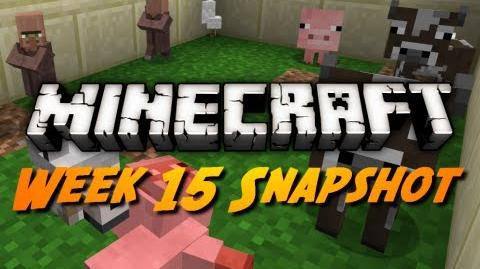 Minecraft Snapshots - 12w15a - Dispensable Boats, Minecarts, & More!