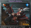 Archer's Resolve