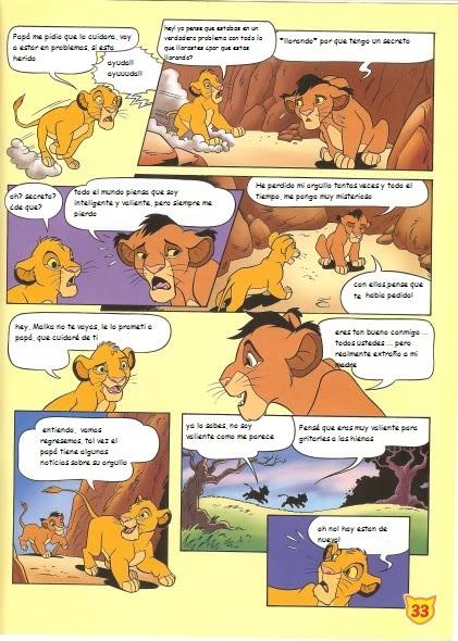 El nuevo hermano de Simba (cómic) Snewbrother4