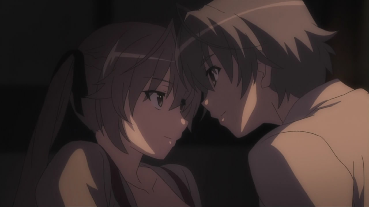 Size of this preview  640   215  360 pixels   Other resolutions  320    Yosuga No Sora Sora And Haru Kiss