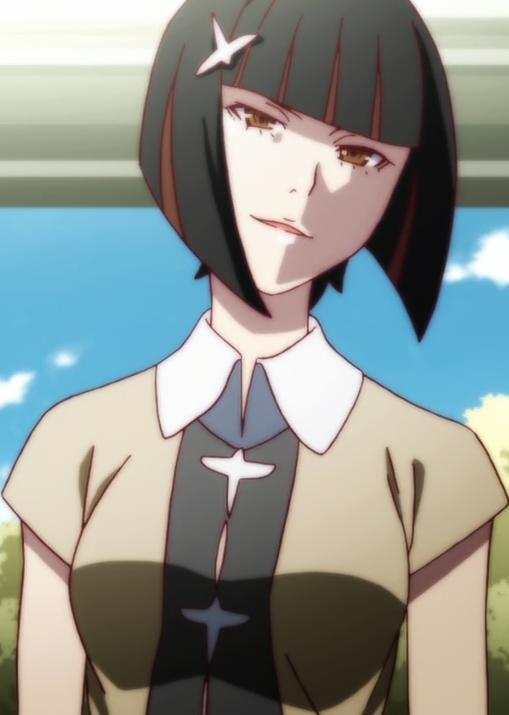White hair anime characters female